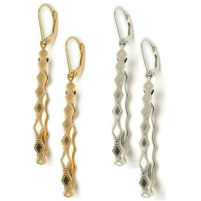COURAGE HOOP EARRINGS, gold or silver