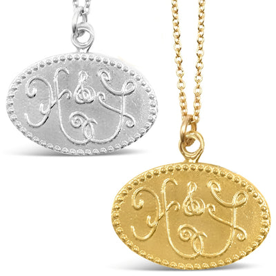 HOPE & FAITH CHARM NECKLACES
