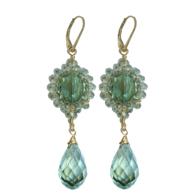 JULIA CRYSTAL EARRINGS