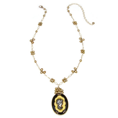 SOPHIA'S CAMEO NECKLACE