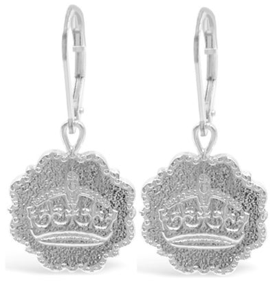 KEEP CALM AND CARRY ON EARRINGS ~ gold or silver