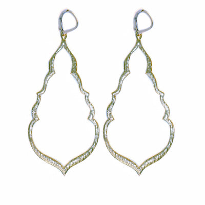 S&CTESTA BUDDHA'S KISS© STATEMENT EARRINGS, gold or silver - EARRINGS - SOPHIA & CHLOE - S&CTESTA