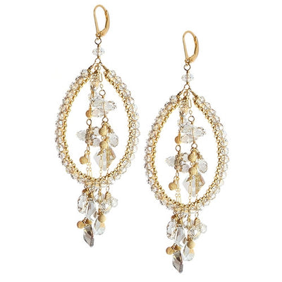 RAPTURE SWAROVSKI COUTURE EARRINGS