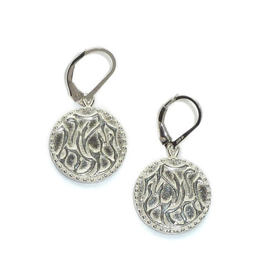 TIKKUN OLAM CHARM EARRINGS