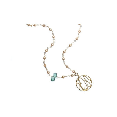 RADY CHILDREN'S HOSPITAL LONG MERMAID QUARTZ PEARL NECKLACE