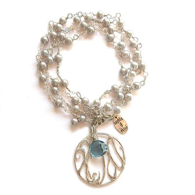 RADY CHILDREN'S HOSPITAL LONG PEARL NECKLACE/BRACELET