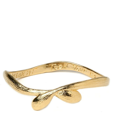 SHAKE IT BABY BANGLE gold or silver, assorted sizes