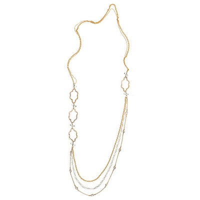 MIRABELLA MULTI-STRAND NECKLACE