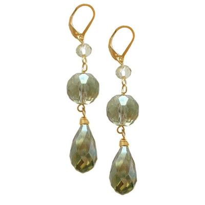 S&CTESTA DREW MINT GREEN DROP EARRINGS - HERE COMES THE BRIDE,DIVINE ELEMENTS,BAUBLES UNDER $100,EARRINGS - vendor-unknown - S&CTESTA