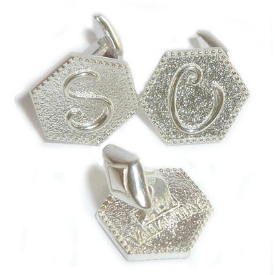 INITIAL CUFFLINKS - MIX & MATCH