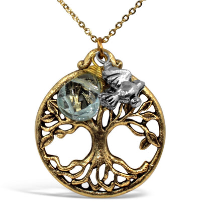 TREE OF LIFE FANCY NECKLACE