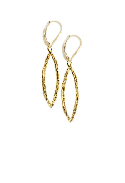 Amor Vincit Omnia PEACE EARRINGS Assorted Sizes in Gold or Silver