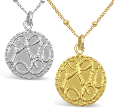 PEACE, LOVE & HAPPINESS CHARM NECKLACE - AS SEEN ON THE FOSTERS -