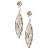 Amor Vincit Omnia Dainty DOVE EARRINGS on CZ Posts or Leverbacks