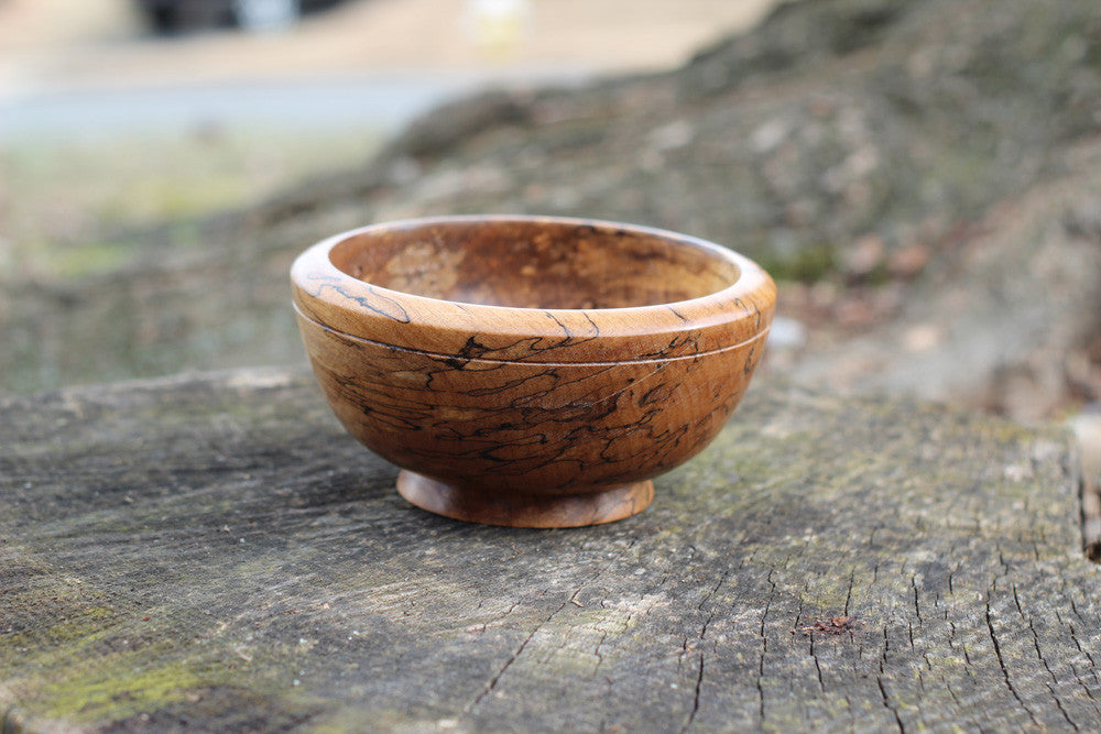 Thick Walled Red Maple Bowl