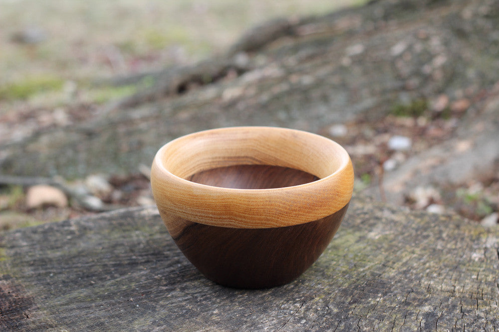 Small Walnut & Poplar Bowl