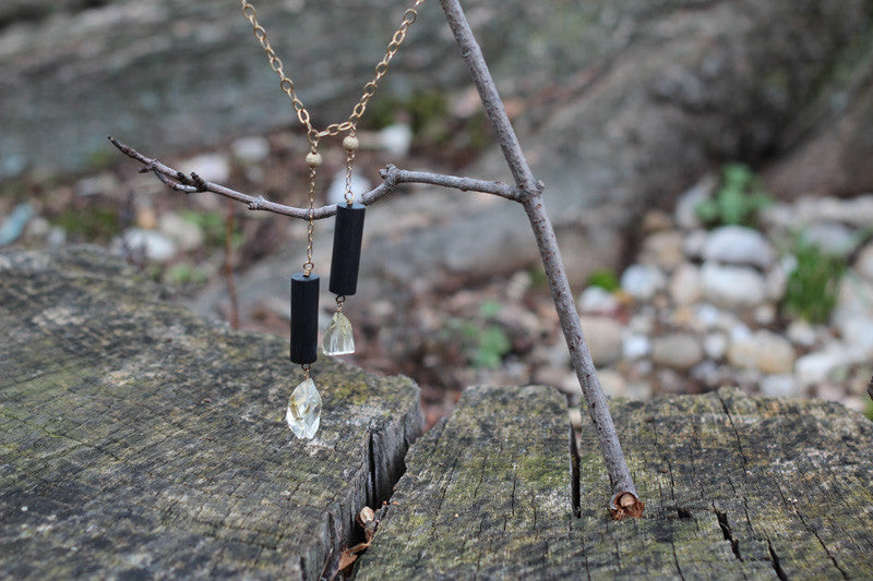 Citrine Balance Necklace