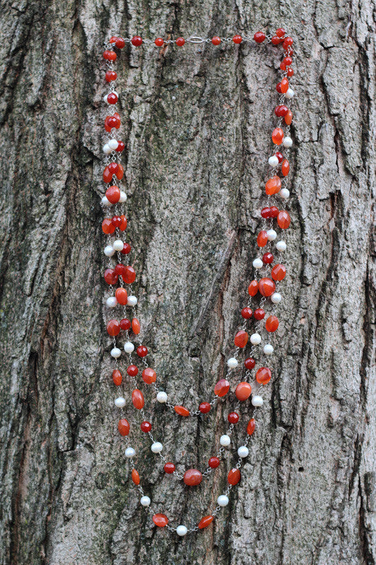 Flowing Ember Necklace