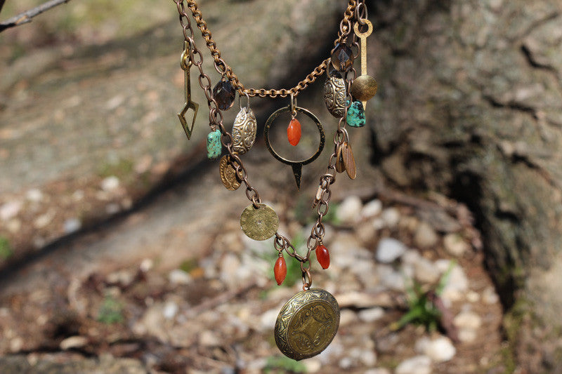 Keeping Time Necklace