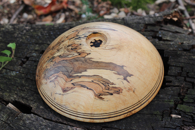 Red Maple Tapered Bowl