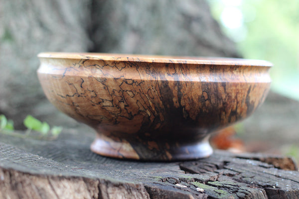 Red Maple Serving Bowl