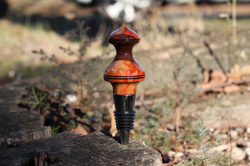 Box Elder & Walnut Bottle Stopper