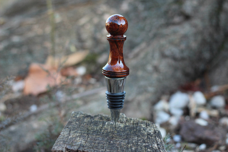 Myrtle Burl Bottle Stopper