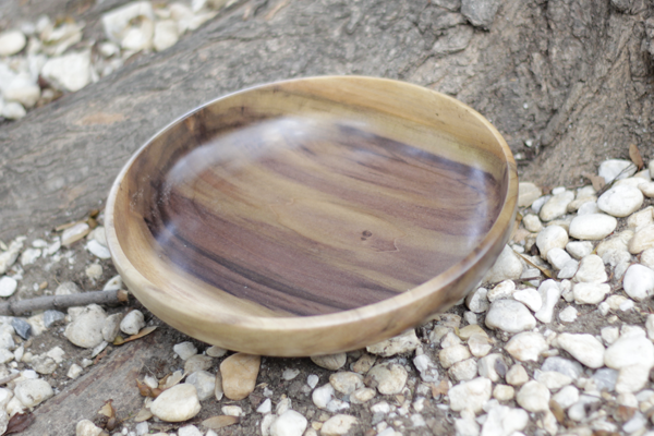 Tulipwood Serving Plate