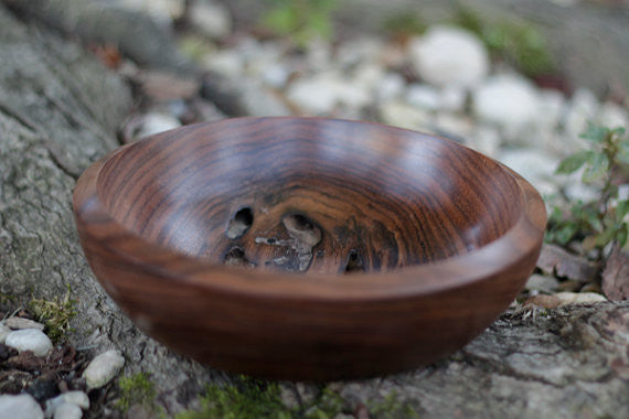 "Walnut ""Tunnel"" Bowl"