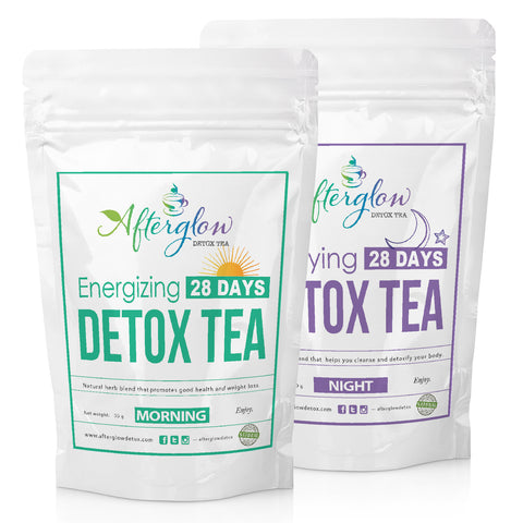 Detox and Weight Loss Tea Combo (28 Days)