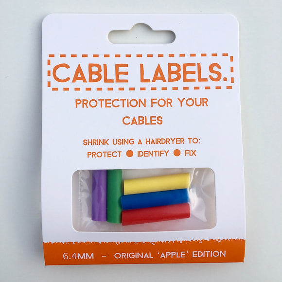 Apple Lightning Cable Saver Protector - Multi-Coloured Pack