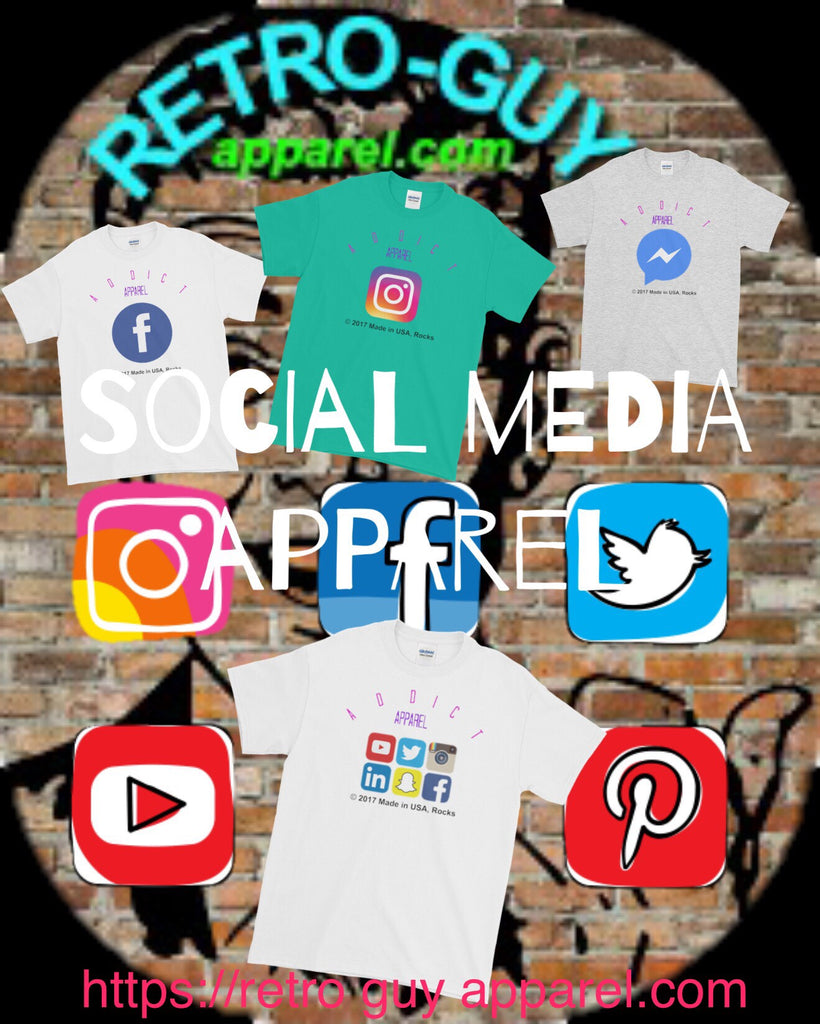 Social Media Apparel on SALE!!!