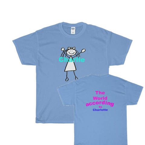 World According to / Charlotte / Custom / Heavy Cotton T-Shirt