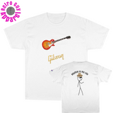 LesPaul/Gibson/front-back/Champion T-Shirt