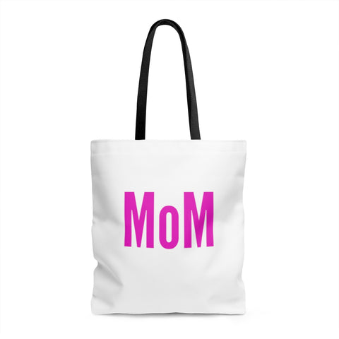 Mom / AOP Tote Bag / Retro Guy Apparel
