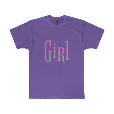Daddy's Girl / Pink /  Tagless Tee - Retro Guy Apparel