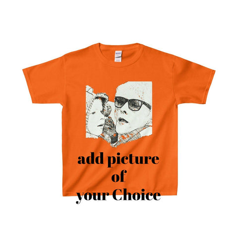 Family/Picturedrop/Gildan® Heavy Cotton™ Youth T-Shirt - Retro Guy Apparel