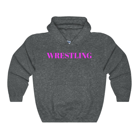 Wrestling / Sports / Pnk / Unisex Heavy Blend Hooded Sweatshirt / Retro Guy Apparel