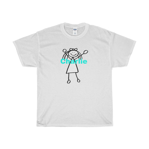 World According to / Charlotte / Custom / Heavy Cotton T-Shirt / Retro Guy Apparel