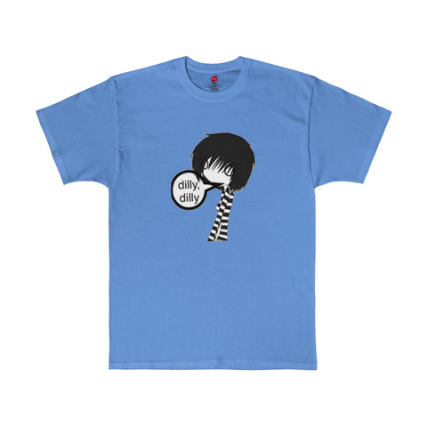 Stick Figure / She / Dilly,dilly / Men's Tagless Tee / Retro Guy Apparel