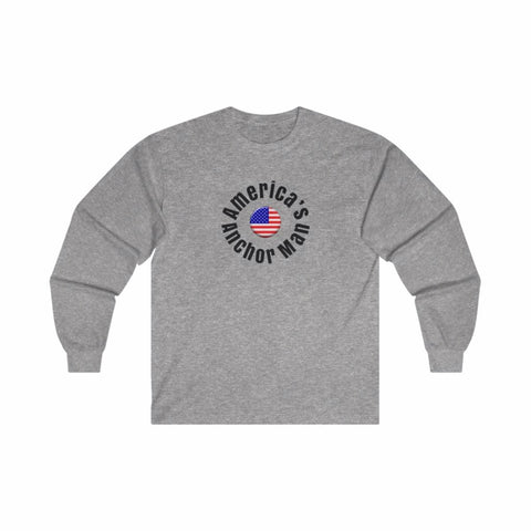 RUSH/America'sAnchroman/Ultra Cotton Long Sleeve Tee/Parody
