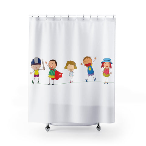 Grandkids/Shower Curtains
