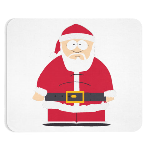 Santa Mouse pad - Retro Guy Apparel