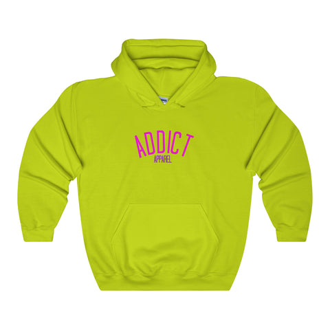 Addict Apparel Logo / Hoodie - Retro Guy Apparel