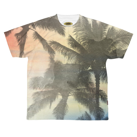 Tropics Sublimated Tee Shirt / Retro Guy Apparel - Retro Guy Apparel