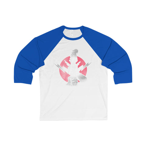 Rock On /  3/4 Sleeve Raglan Jersey / Retro Guy Apparel - Retro Guy Apparel