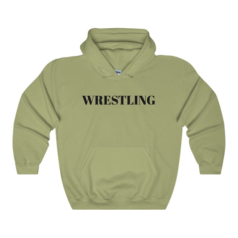 Wrestling / Sports / Unisex Heavy Blend Hooded Sweatshirt - Retro Guy Apparel
