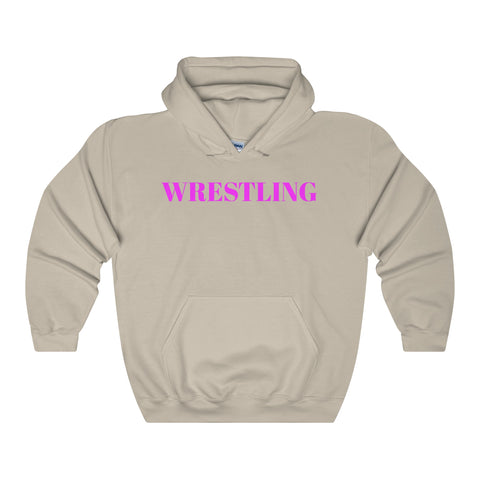 Wrestling / Sports / Pnk / Unisex Heavy Blend Hooded Sweatshirt - Retro Guy Apparel
