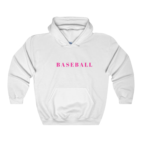 Baseball / Generic / Pink / Unisex Heavy Blend Hooded Sweatshirt - Retro Guy Apparel