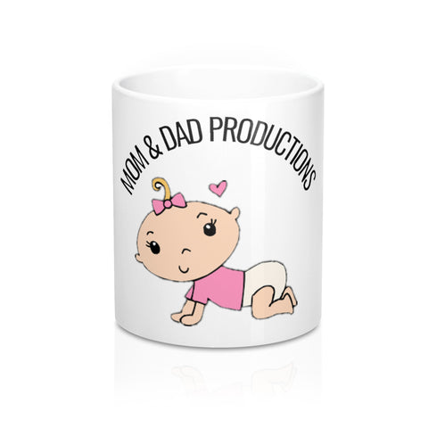Mugs-CUTEBABY - Retro Guy Apparel